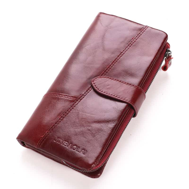 Men's leather wallet, multi-functional first coat of cow skin.8107-3