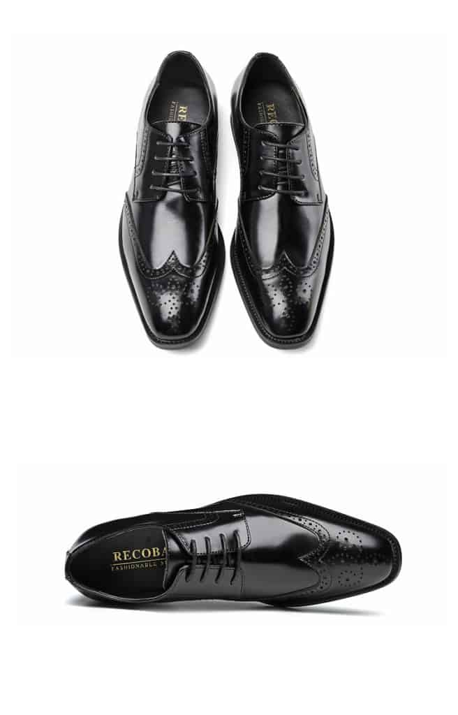Men's leather shoes, business designed shoes, high quality leather. 3210-6-15