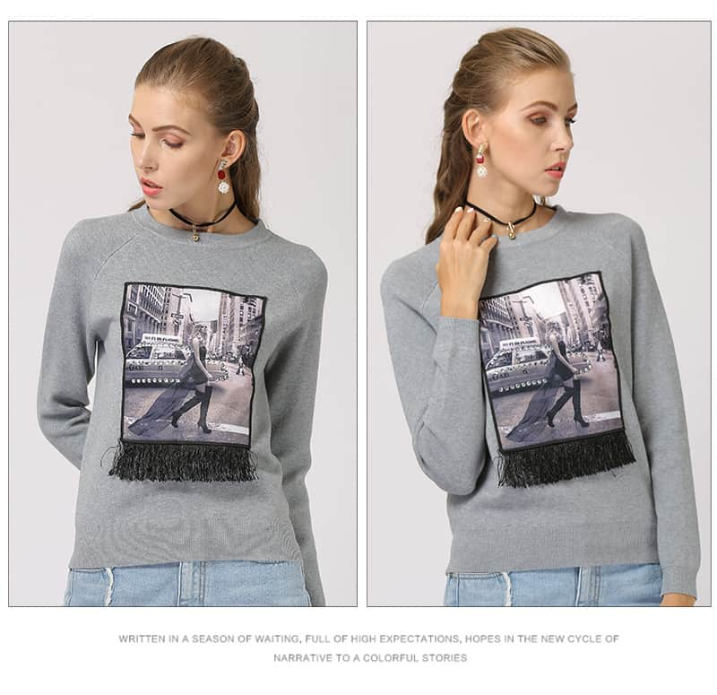 womens-sweater-round-neck-long-sleeves-slimming-sweater-9137-gray